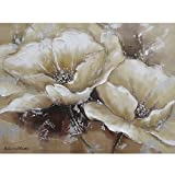 Yosemite Home Decor FCC4812-1 Full Bloom 1 Painted Wall Art