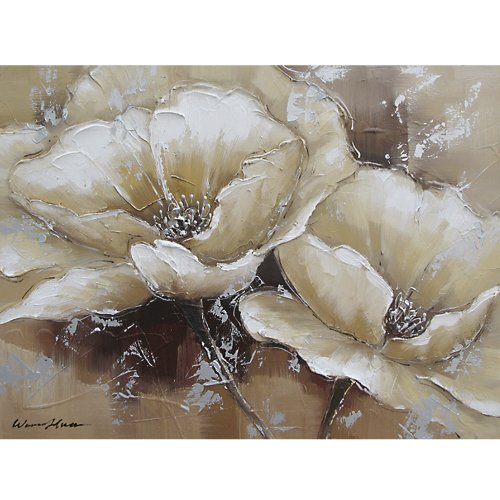 Yosemite Home Decor FCC4812-1 Full Bloom 1 Painted Wall ()