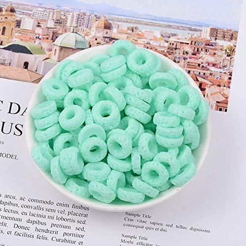 Slime charms New 10pcs-lot Slime Charms Mixed Candy Donut Beads Slime Bead Making Supplies with additives for slimes 3