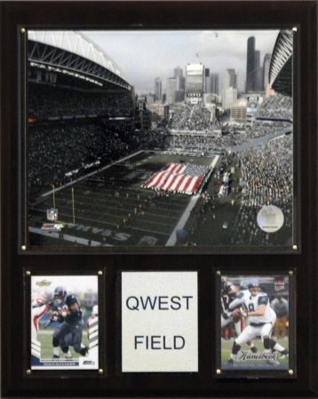 NFL Qwest Field Stadium Plaque