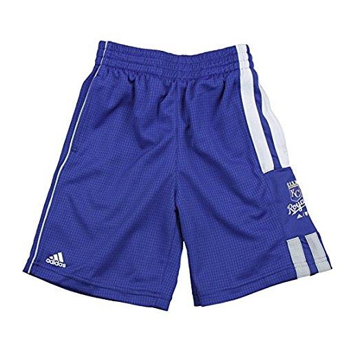 Kansas City Royals MLB Little Boys Pre-Game Shorts, Royal Blue