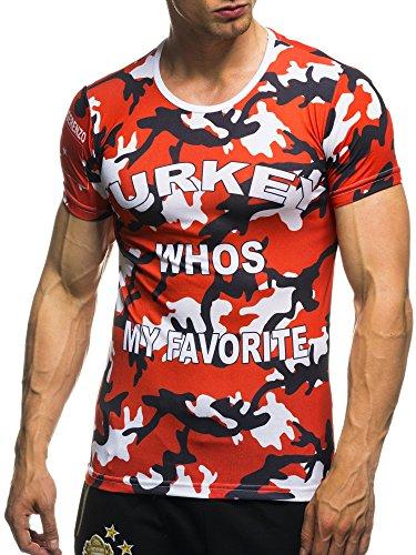 EM Fanshirt 2016 EM Fanshirts Fan T-Shirt Shirt Deutschland Frankreich Italien Portugal Spanien Tuerkei camouflage T-Shirt; Grš§e M, Tuerkei