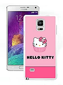 Personalized Design Samsung Note 4 Hello Kitty 26 Phone Cover Case for Samsung Galaxy Note4 N910 White