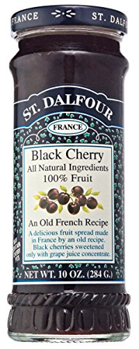 St. Dalfour Black Cherry Fruit Spread, 10 - Black Spread Cherry Fruit