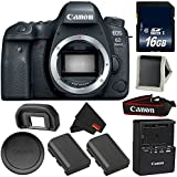 Canon EOS 6D Mark II DSLR Camera (Body Only) 26.2MP Full-Frame International Version (No Warranty) Bronze Level Bundle