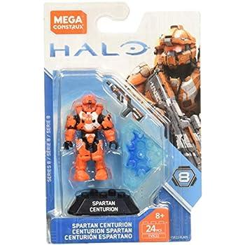 Amazon.com: Mega Construx Halo Heroes Spartan Defender ...