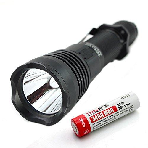 ThruNite® TC10 V2 900 Lumen Die wiederaufladbare LED Taschenlampe mit USB Interface,die Taschenlampe mit integriertem Ladegeraet!