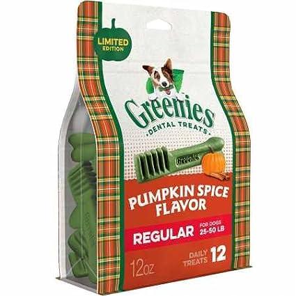 147eb9e7720f Amazon.com   Greenies Pumpkin Spice Flavor Regular (12 Count)   Pet ...