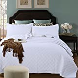 Dodou European Style printing Quilt Patchwork Bedspread/Quilt Sets 100% Cotton Queen Size 3pcs