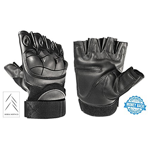 Tactical Gloves – Airsoft Fingerless Gloves - Tactical Fingerless Gloves - Airsoft Gloves – Airsoft Gear – Tactical Gear for Men – Military Gloves – Paintball Gear – Hunting Gloves – Combat Gloves