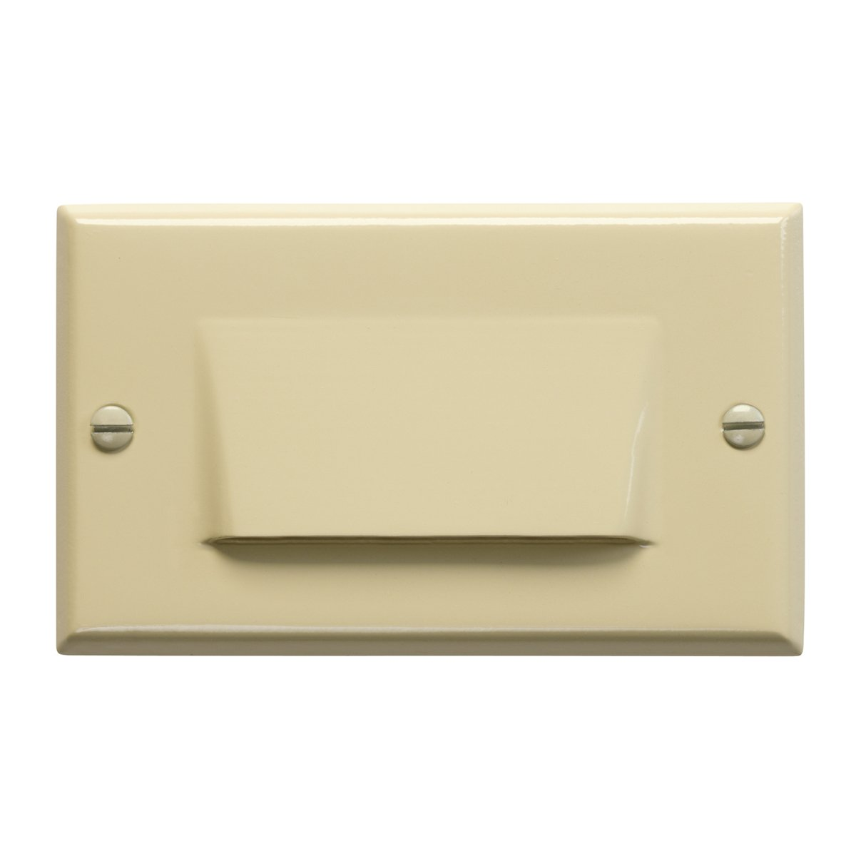 Kichler Lighting 12602IV Shielded Face LED 120V Step Light, Ivory Finish by Kichler Lighting