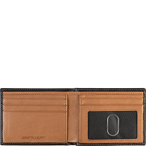 Johnston amp; Murphy Wallet Tan Johnston Slimfold amp; Murphy Black wwrqCv