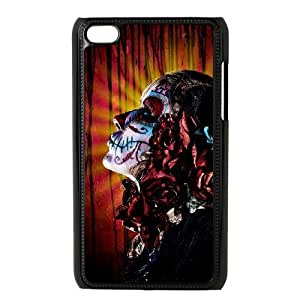 Artistic Skull Phone Case For Ipod Touch 4 [Pattern-1]