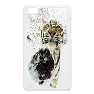Wholesale Cheap Phone Case FOR IPod Touch 4th -Animal Tiger Pattern-LingYan Store Case 7