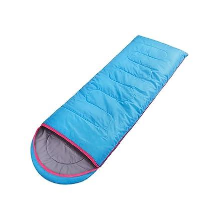 Saco de dormir LCSHAN Poliéster Grueso Impermeable Multifuncional Acampar al Aire Libre Adulto (Color :
