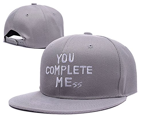 ANDREYD 5sos You Complete Mess Logo Adjustable Snapback Caps Embroidery Hats  - Grey - Buy Online in Oman.  bc0e0ada48b8