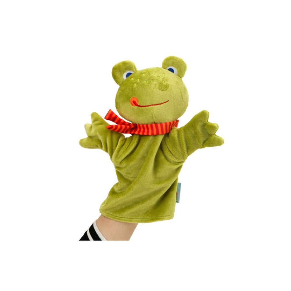 Forma 1pc Animal marionetas de mano de la felpa suave infantil marionetas de mano de dibujos animados mono mu/ñeca de la mano para contar historias Ense/ñanza Preescolar