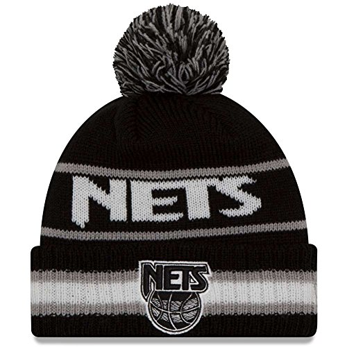 New Era Men's Vintage Select New Jersey Nets HWC Black Hat One (Era Vintage Jersey)