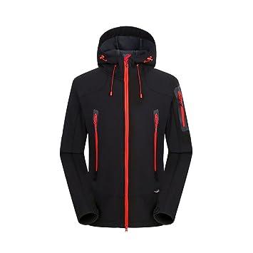 77515b2eee6a9 Ynport Crefreak Softshell Veste Hommes Trekking Ski Imperméable Manteau De  Pluie en Plein Air Randonnée Vêtements