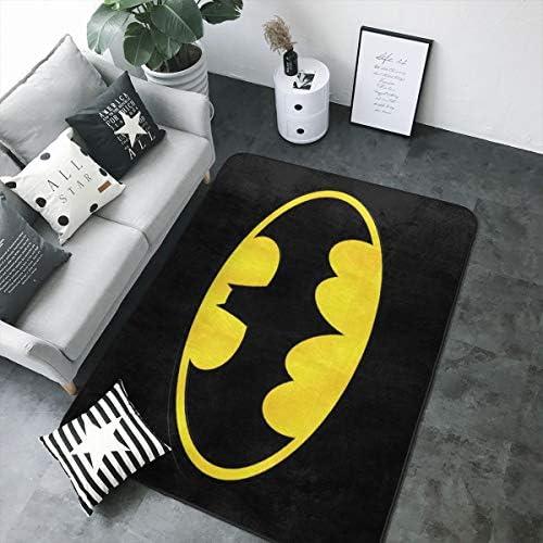 d'intérieur avec Tapis Super Logo Tapis Doux Batman XwN8Pn0Ok
