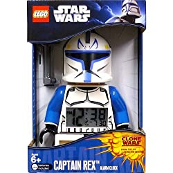 LEGO Star Wars Clone Wars Alarm Clock Captain Rex / Star Wars Clone Wars Captain Rex Alarm Clock [parallel import] (japan import)
