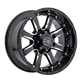 Black Rhino SIERRA Black Wheel (17x9''/6x139.7mm ,+12mm offset)