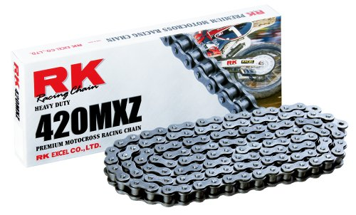 RK Racing Chain 420MXZ-116 116-Links MX Chain with Connecting Link