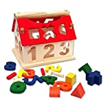 Tinksky Educational Toys for Kids ,DIY Wooden Building Blocks - Numbers Arithmetic Signs