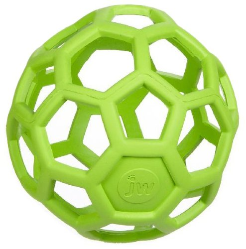 Hol Ee Roller Rubber Chew Toy (JW Pet Hol-ee Roller 6.5 - Colors May Vary)
