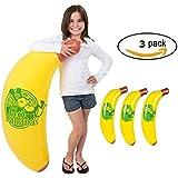 "44"" Jumbo Monkey Banana Inflate Pack of 3"