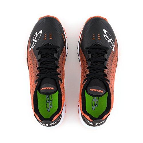 Scarpe Da Calcio Turf Da Uomo - 14 Opzioni Di Colore - Più Dimensioni Nero / Arancione
