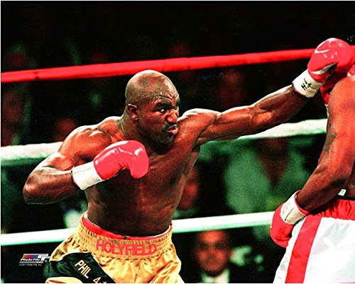 (Evander Holyfield Boxing Action Photo (Size: 11
