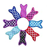 Mermaid Tail Freezer Ice Pop Sleeves - Popsicle Holder - 8 Pack WEN FEIYU