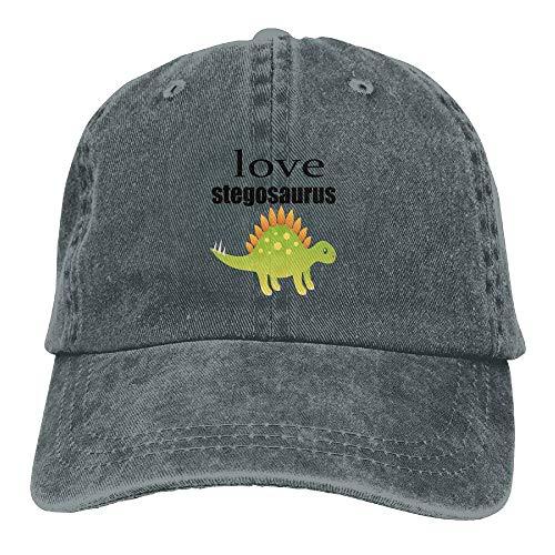 Love Stegosaurus Cowboy Hat Adjustable Baseball Cap Sunhatcap Peaked Cap