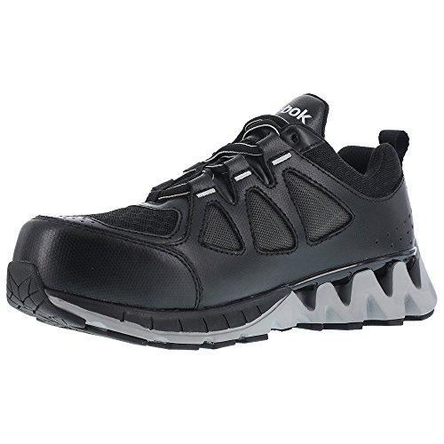 Reebok Womens Zigkick Oxford Athletic Work Shoes Composite Toe Black 10.5 W m1v0R