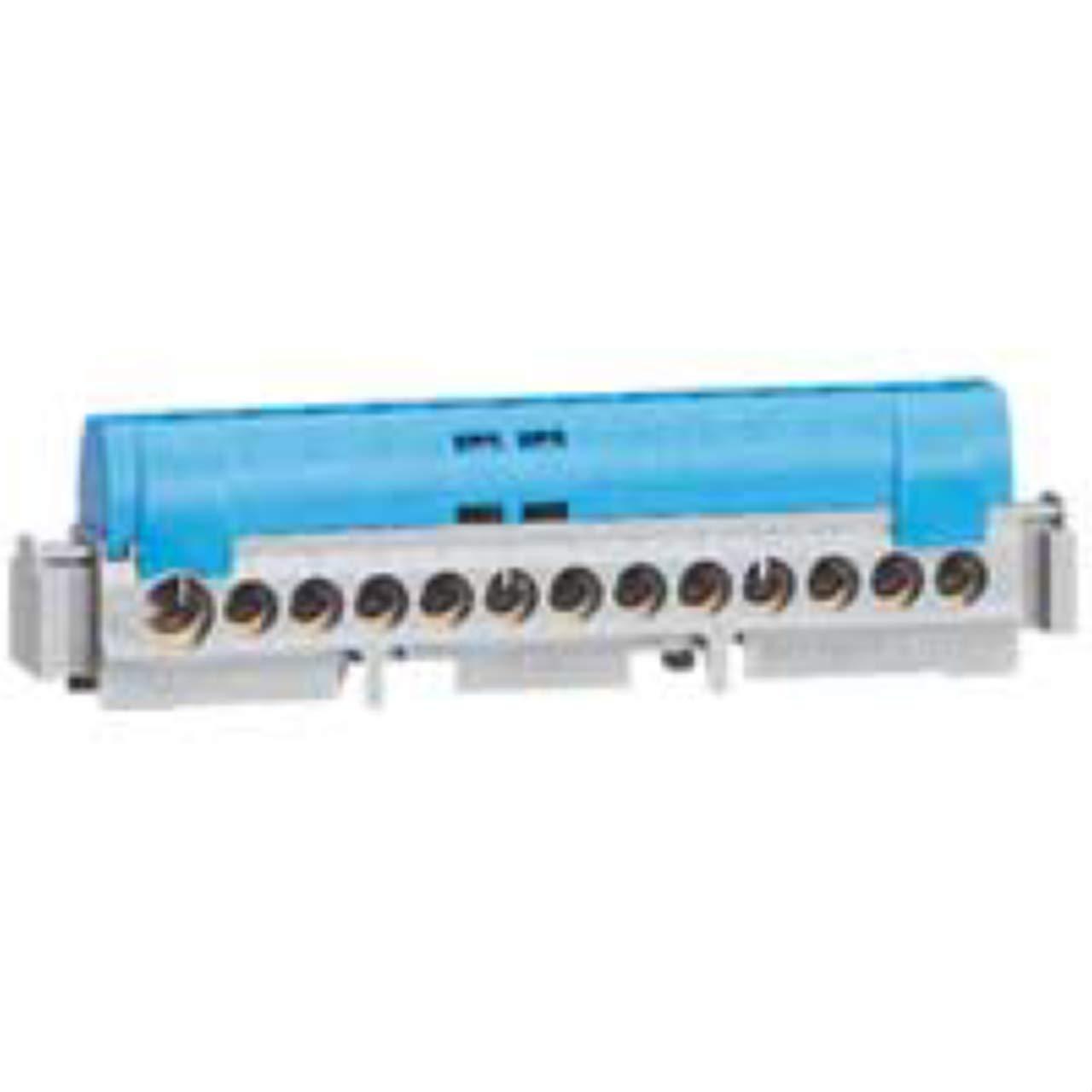 Legrand LEG04845 Bornier de r/épartition IP 2x neutre 1 connexion 6 /à 25 mm 141 mm Bleu