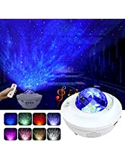 Night Light for Kids, LBell 3 in 1 Star Projector w/LED Nebula Cloud for Bedroom/Game Rooms/Home Theatre/Night Light Ambiance with Bluetooth Speaker, Voice Control& Remote Control