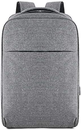 Quzama-JS リュック メンズ 大容量 リュックサック a4ファイルや15.6インチpc収納ビジネスリュック USB リュック耐久性や撥水加工材料採用 通勤/通学/出張/旅行などに適用バックパック(グレー)