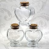 Best Fashioncraft Glass Jars - FavorOnline Perfectly Plain Collection Heart Shaped Glass Jars Review