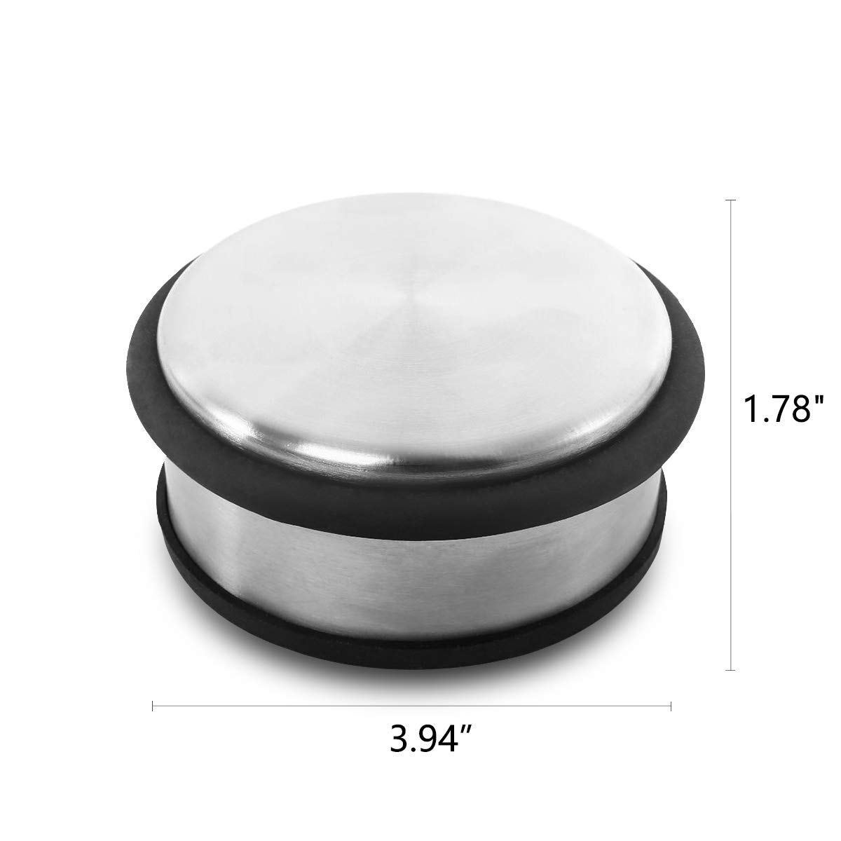 Modern Decorative Safety Door Wedge For Home And Office Durable Stainless Steel Door Stops With Antiskid