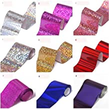 So Beauty Newest 32 Colors Nail Art Transfer Foil Nail Tip Decoration