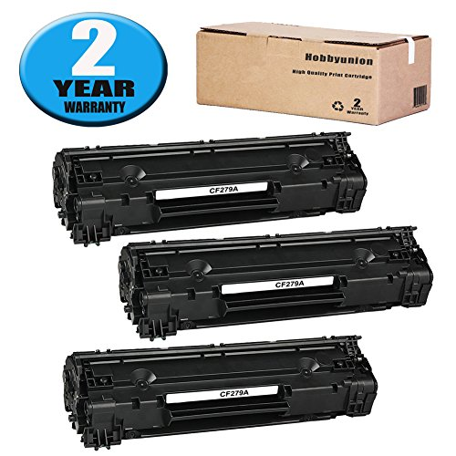 Price comparison product image Hobbyunion 79A CF279A Toner Cartridge Replacement for CF279A 79A Toner Cartridge 3 Pack (CF279A 79A Laserjet Toner Cartridge) Fits in Laserjet Pro MFP M26nw m26a M12w M12a