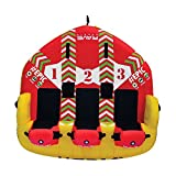 RAVE Sports 02645 #EPIC 3-Rider Towable , red , 78