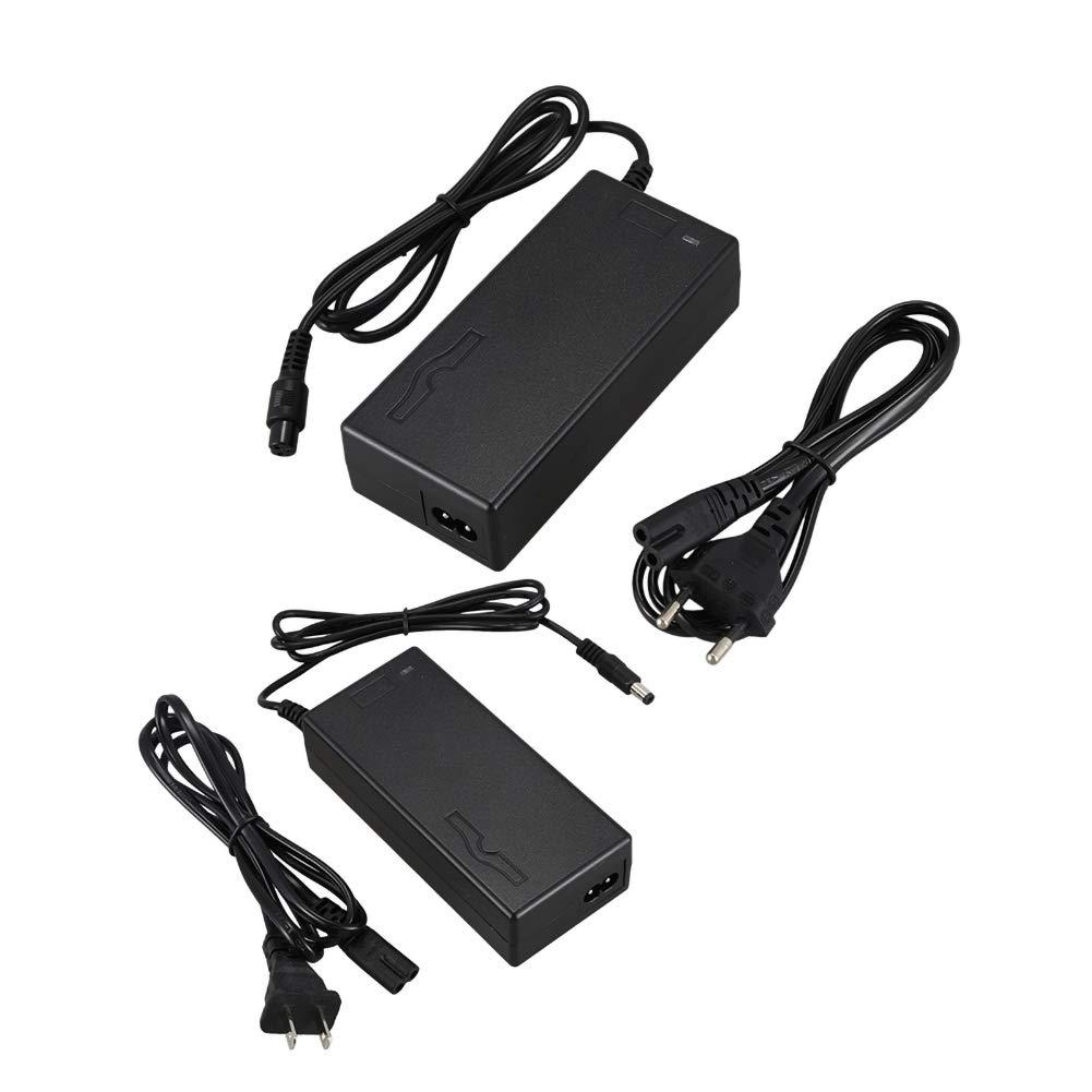 YIDOU 29.4v 2A Adattatore per caricabatterie per batteria al litio per bicicletta elettrica adatto per 5,5 pollici 6,5 pollici Caricatore per scooter elettrico-UE