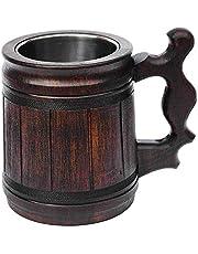 Handmade Beer Mug Wooden Tankard Beer Stein