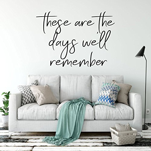 Family Memories Wall Decal Vinyl Lettering -