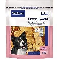 Virbac C.E.T. Masticables de higiene oral enzimática, perro grande, 30 unidades