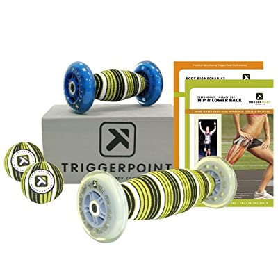 Trigger Point Performance Hip and Lower Back Self Myofascial Release and Deep Tissue Massage Kit with Instructional DVDs from Trigger Point Performance