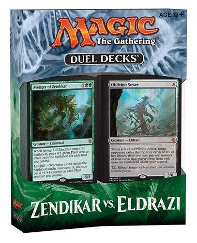 MTG Magic the Gathering - Duel Decks: Zendikar vs  Eldrazi