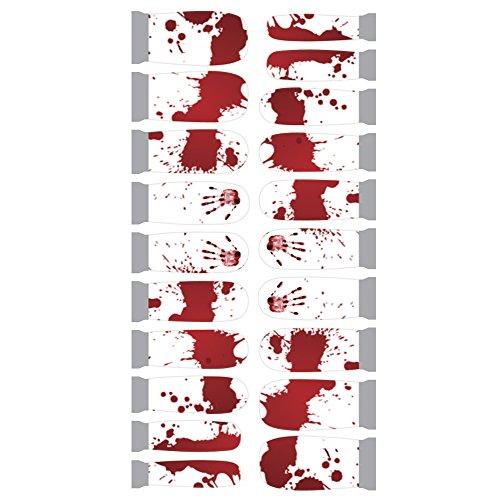 Winstonia Designer Nail Wrap - Bloody -